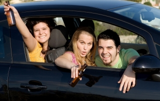 can a drunk passenger be charged with DUI
